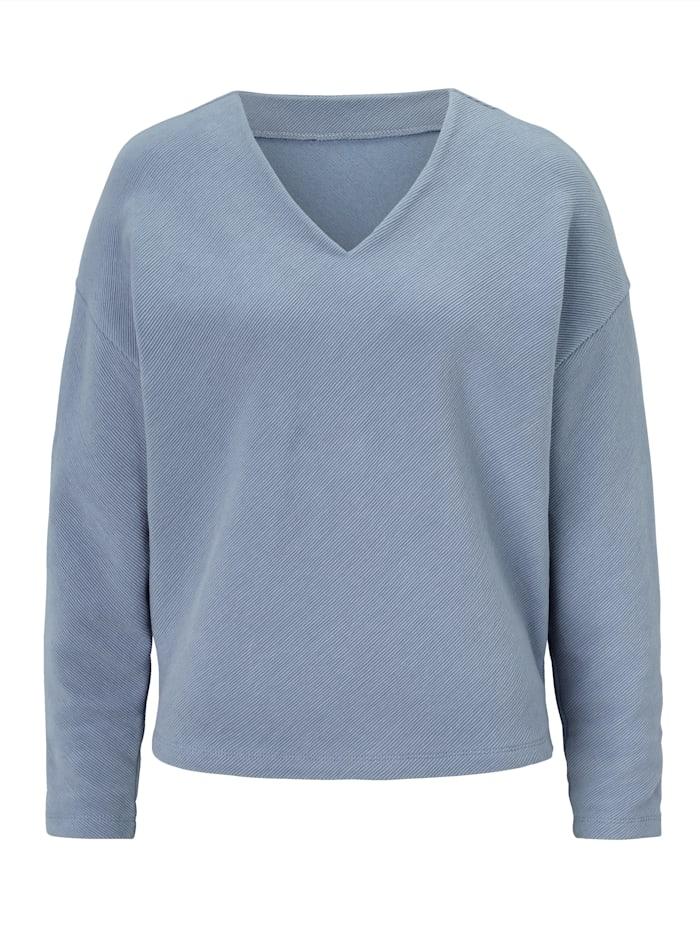 REKEN MAAR Sweatshirt, Hellblau