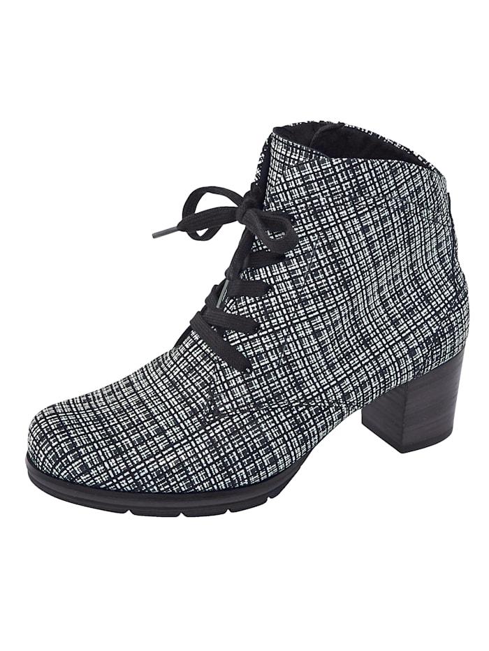 Semler Lace-up ankle boots, Black