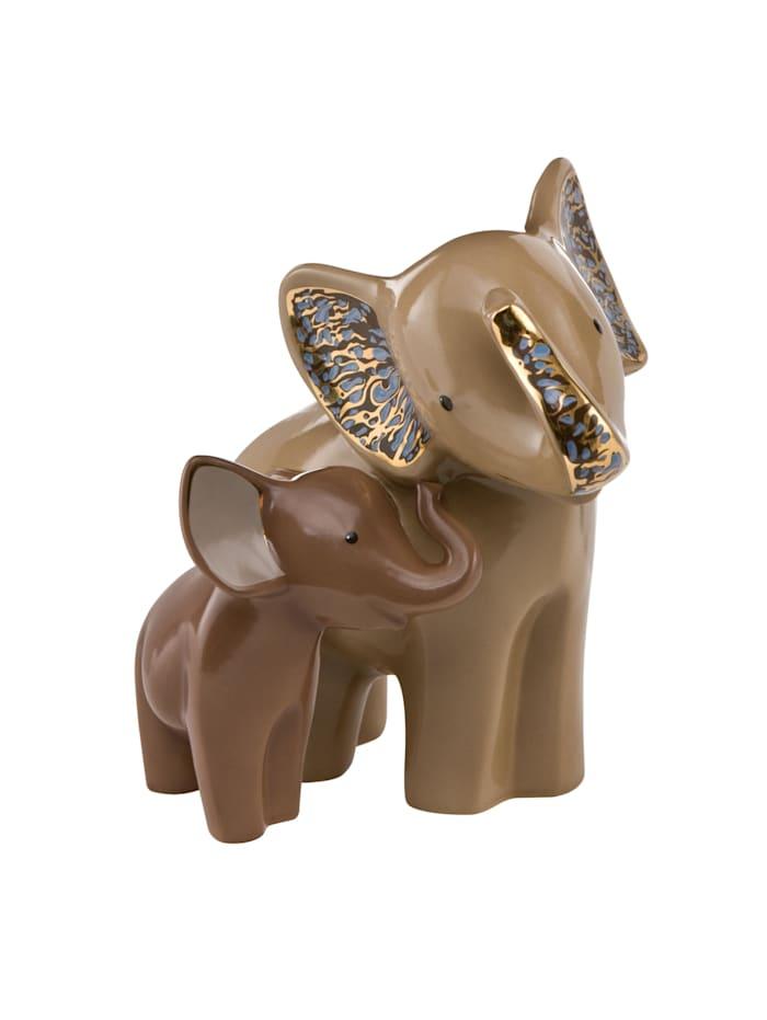 "Goebel Goebel Figur Elephant - ""Wen-Di"", braun"