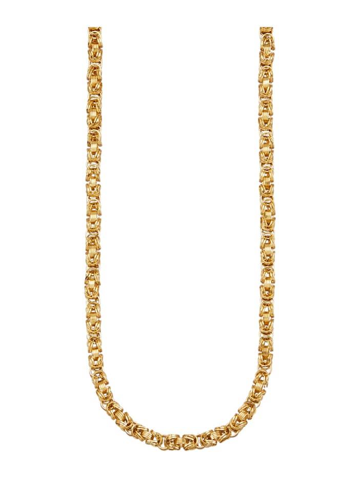Halsband i kejsarlänk, Guldfärgad