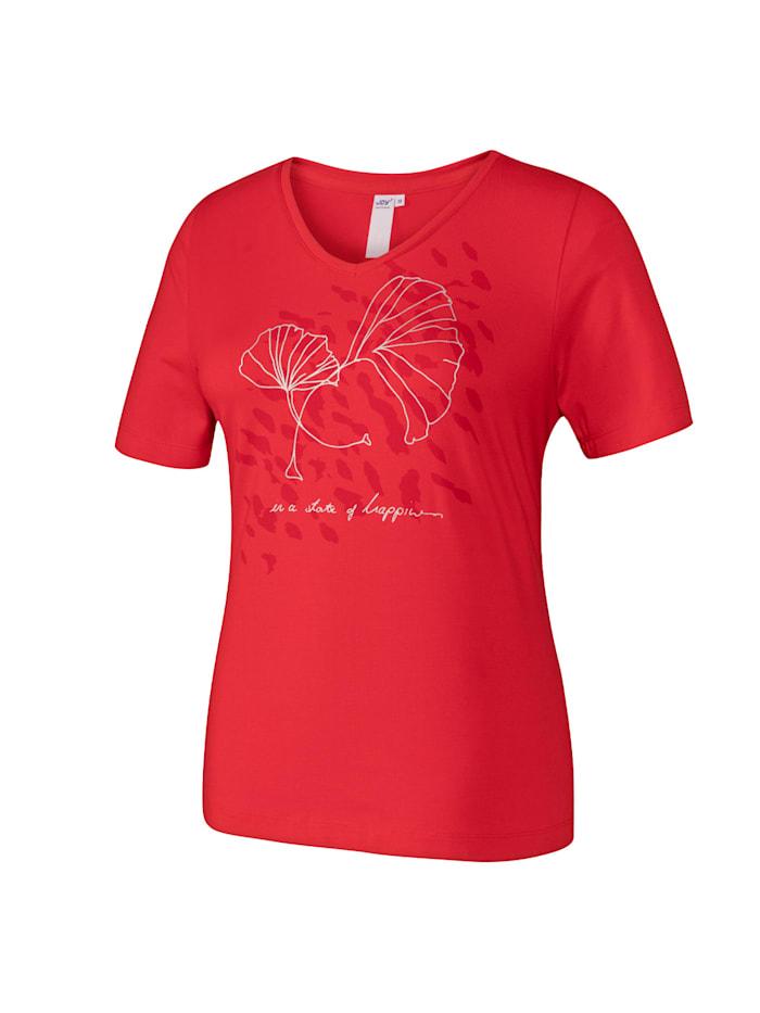 JOY sportswear T-Shirt CORA, salsa red