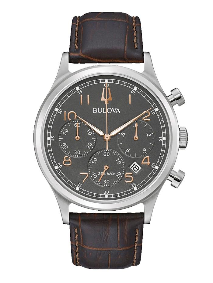 Bulova Herren-Chronograph 96B356, Braun