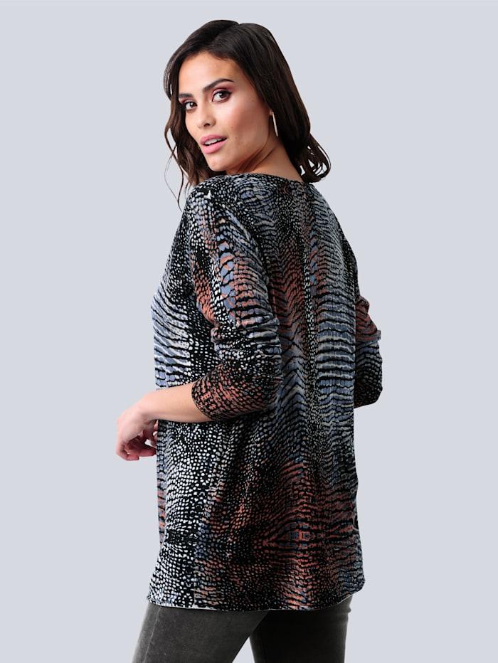 Pullover im excklusiven Dessin nur bei Alba Moda erhältlich
