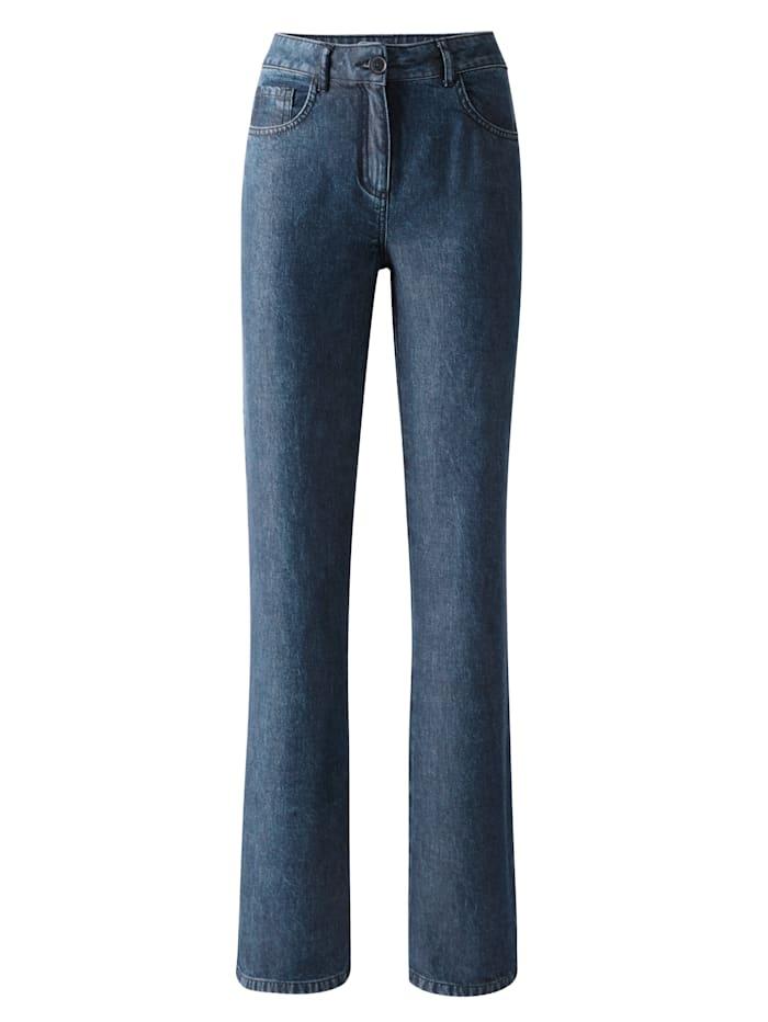 Hose mit modisch weitem Bein