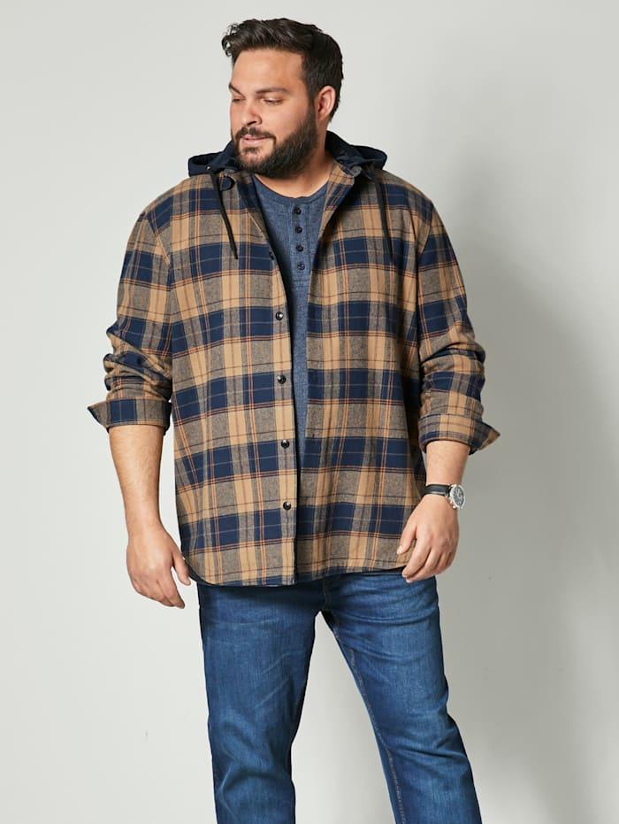 Veste-chemise en pur coton