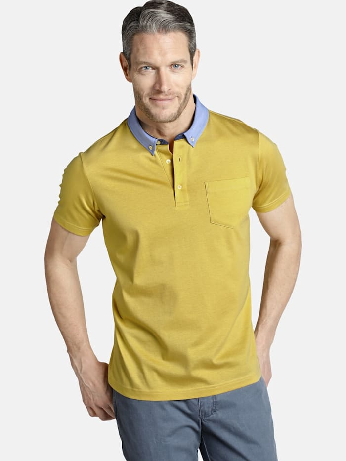 Charles Colby Charles Colby Poloshirt ECTOR, gelb