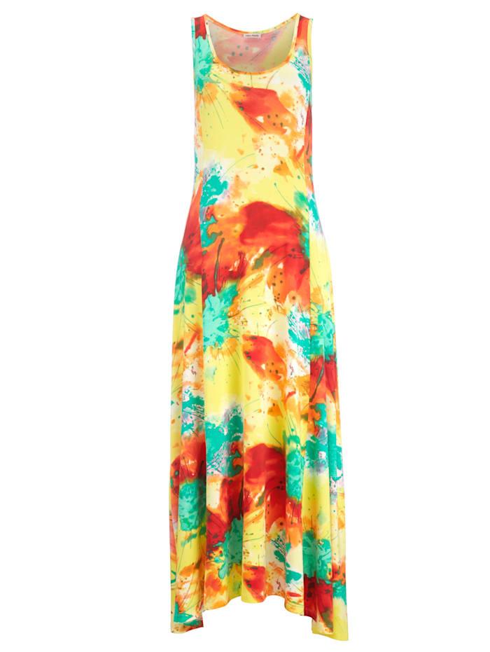 Alba Moda Jurk met zomerse print, geel/multicolor