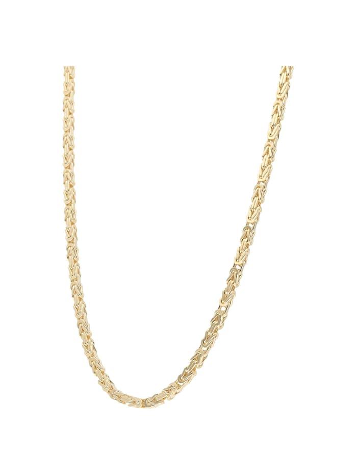 Luigi Merano Kette Königskette, massiv, Gold 375, Gold