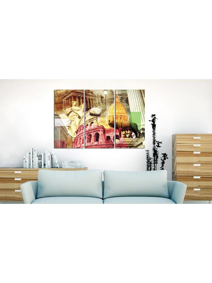 Wandbild Zauberhaftes Rom - Triptychon