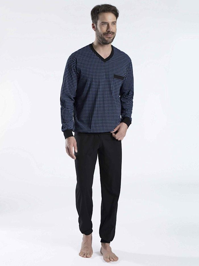 Bündchen-Pyjama Ökotex zertifiziert