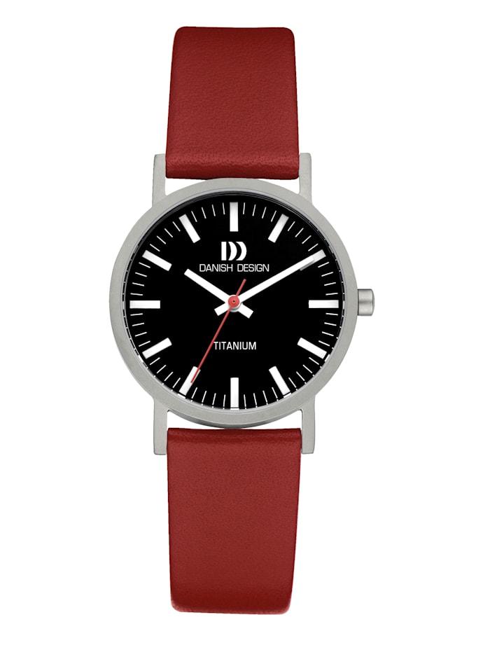 Danish Design Damenuhr 3326630, Rot