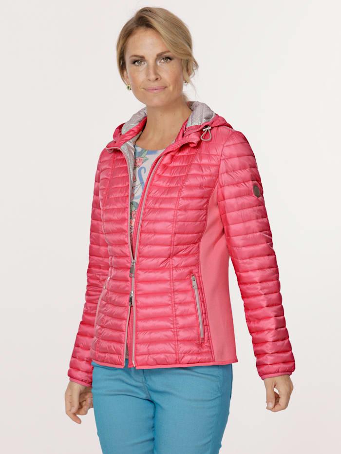 Barbara Lebek Jacke mit elastischem Einsatz, Pink