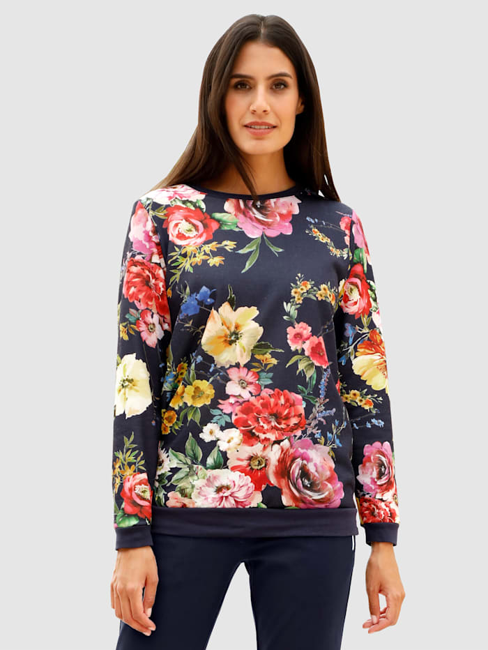 Laura Kent Mikina s kvetinovým vzorom, Námornícka