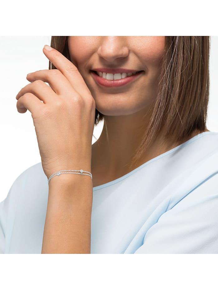 CHRIST Damen-Armband 585er Weißgold 3 Diamant