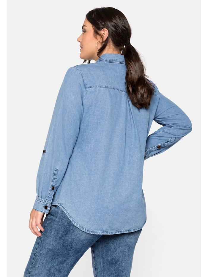 Sheego Jeansbluse