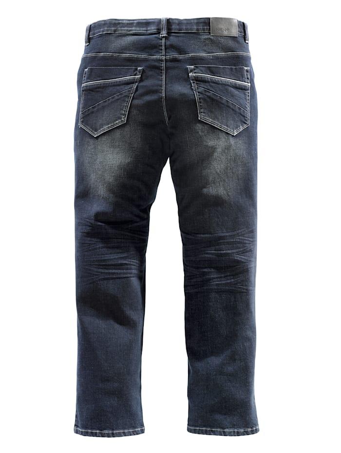 Jeans med komfortresår i midjan