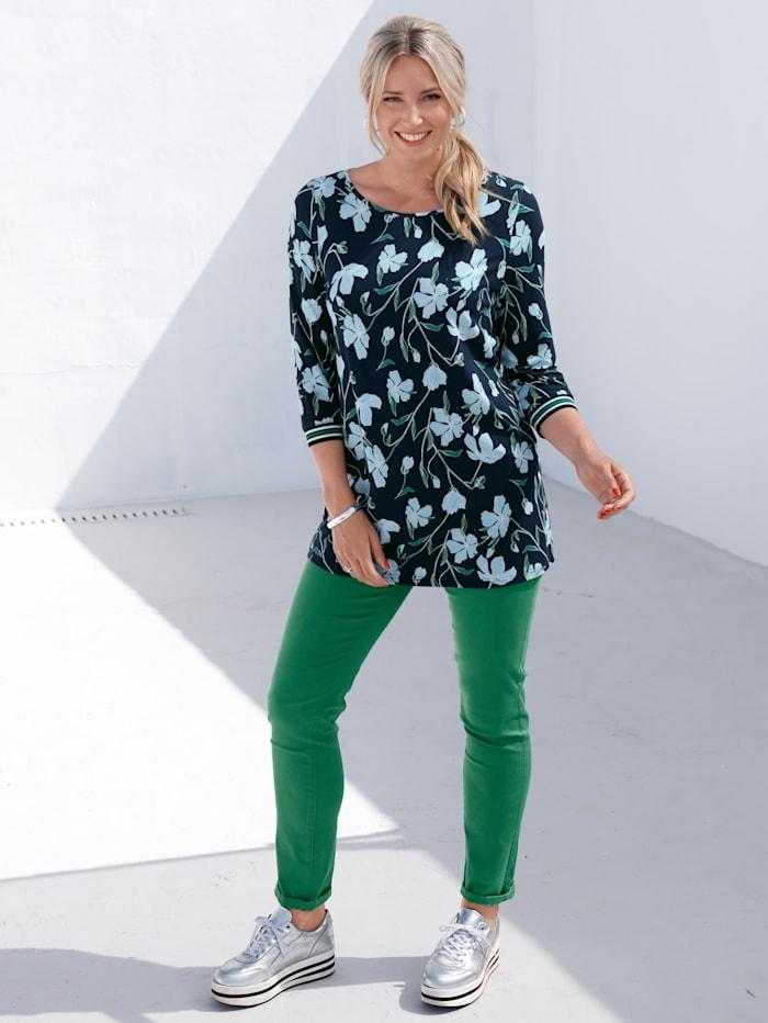 Hose mit Reißverschluss-Taschen seitlich