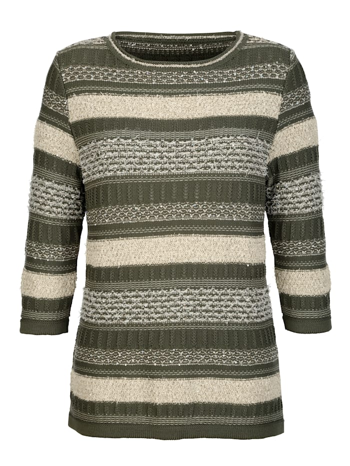 Pullover mit Pailletten-Zier
