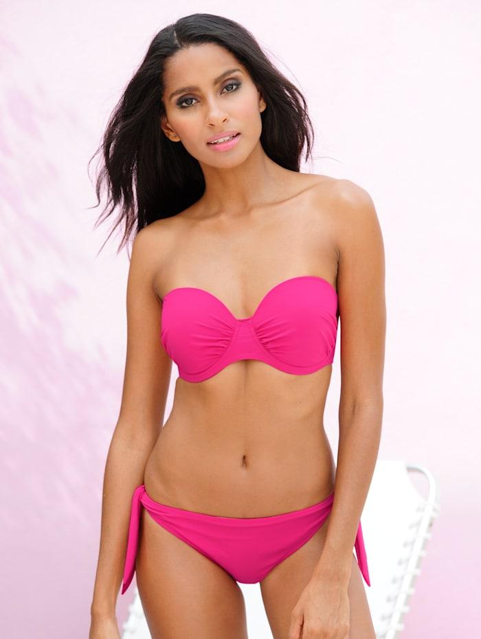 Anita Bikinihose mit Schleifen, pink