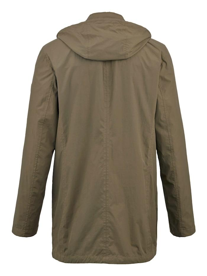 Manteau de voyage avec un petit sac pratique pour le voyage