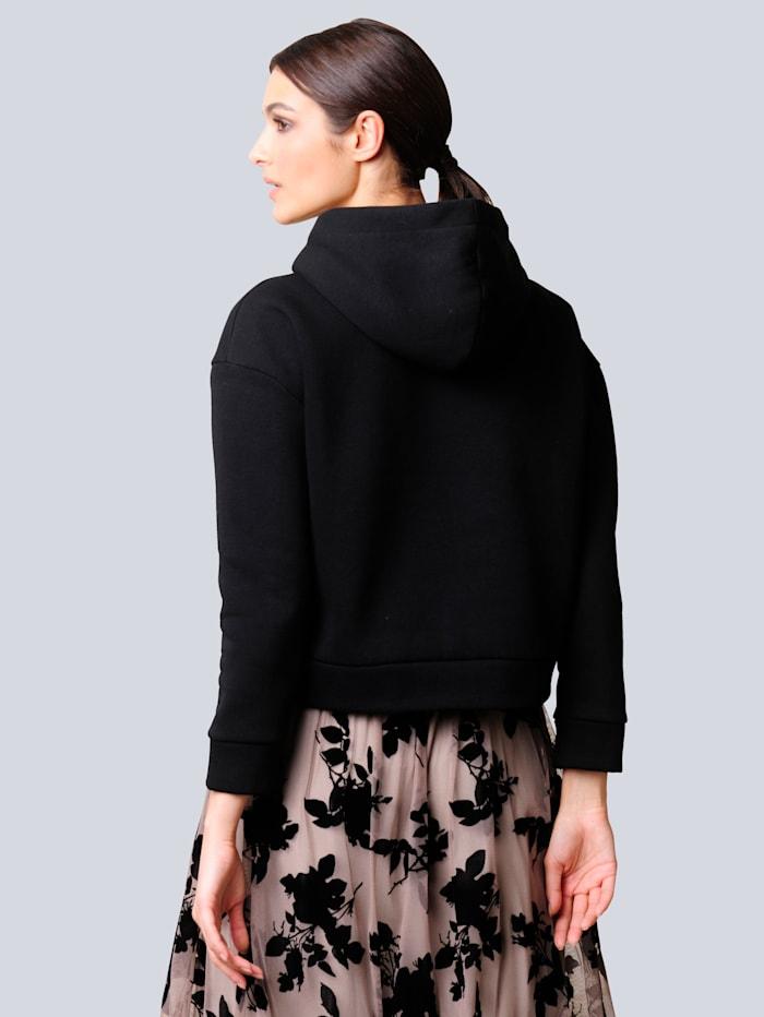 Sweatshirt in modischer Boxy-Form