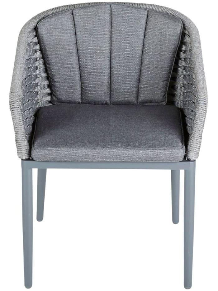 Living Outdoor-Stuhl, Anthrazit/Grau