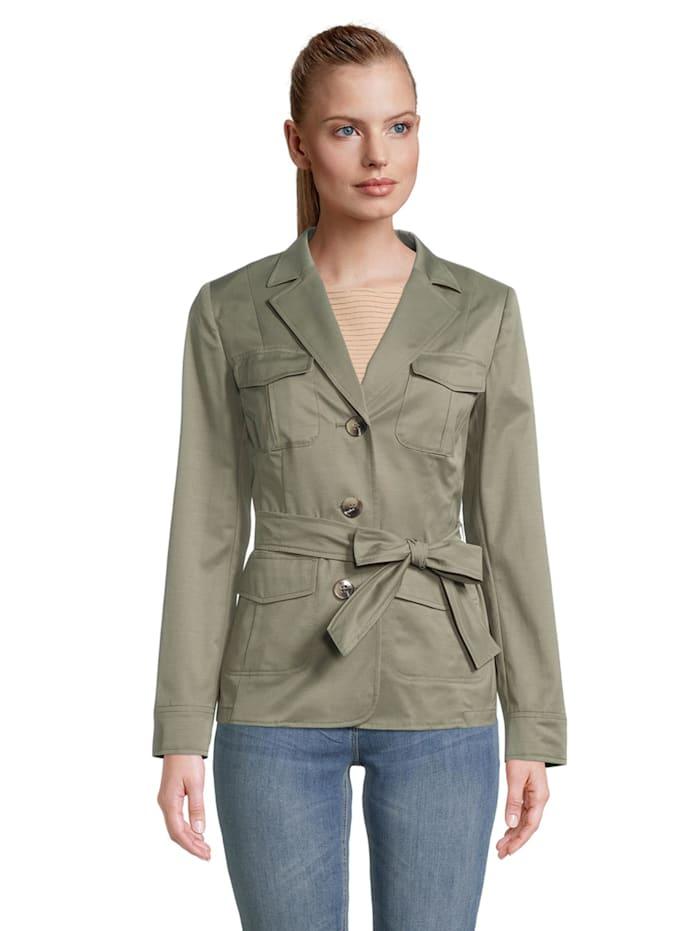 Betty Barclay Casual-Blazer mit aufgesetzten Taschen Form, Dusty Olive