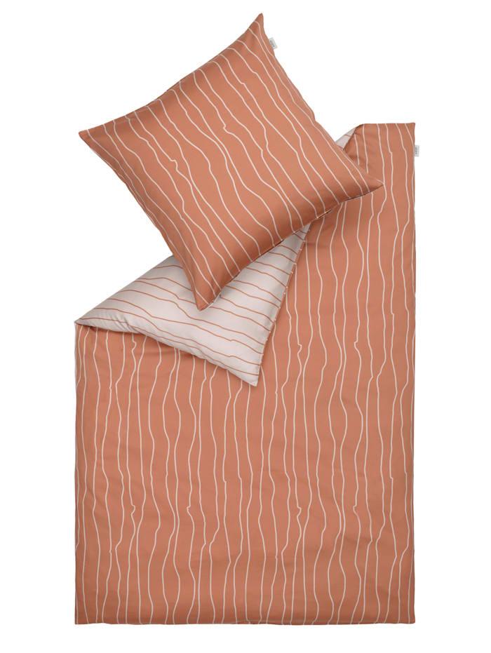 Schöner Wohnen Kollektion Bettwäsche, orange