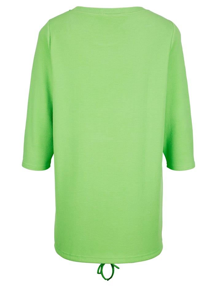 Tričko z pěkné strukturované tkaniny