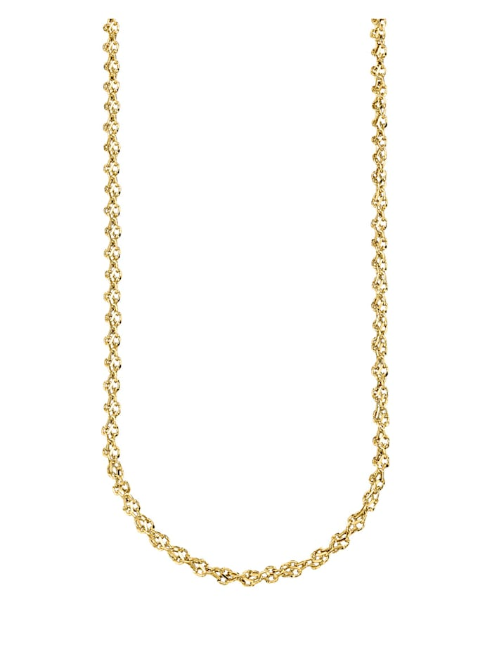 Diemer Gold Halskette, Gelbgoldfarben