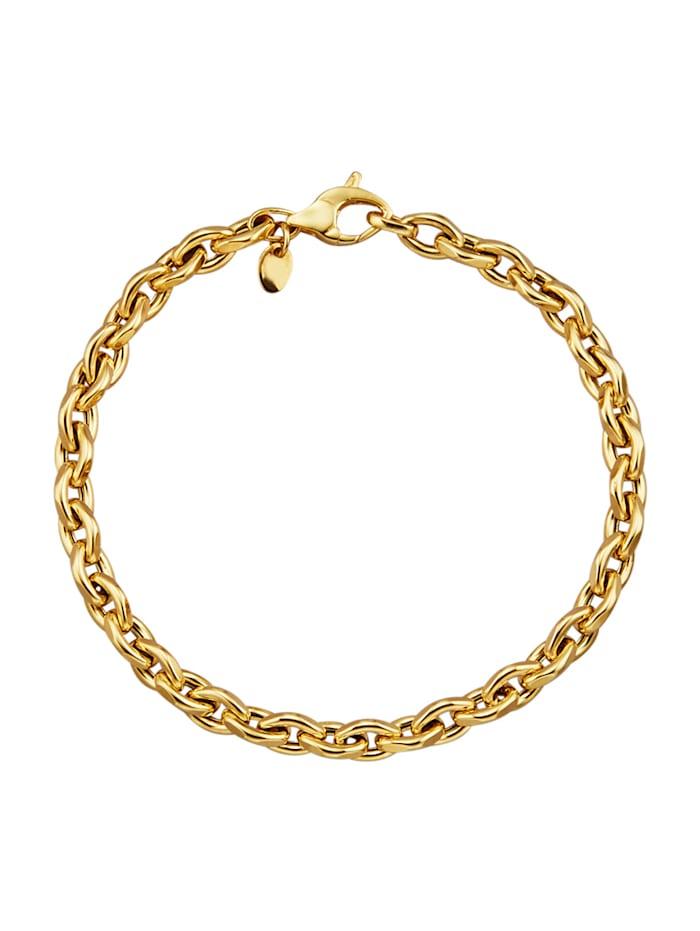 Diemer Gold Ankerarmband in Gelbgold 750, Gelbgoldfarben