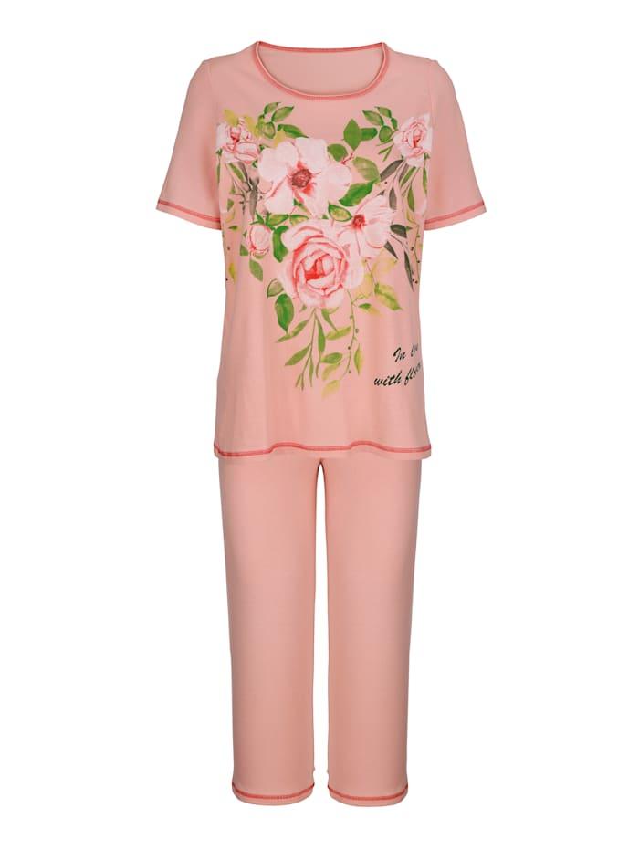 Pyjamas i 3-pack med tre olika ärmlängder