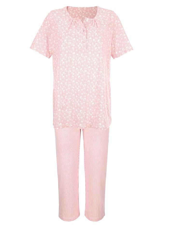 Pyjama's per 2 stuks met schattige patronenmix
