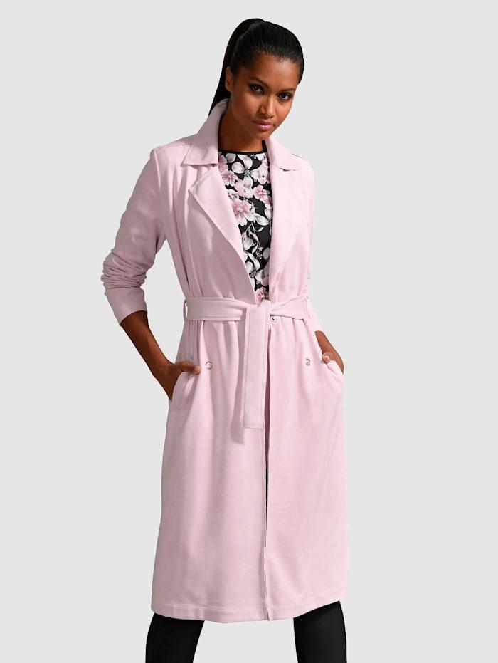 Alba Moda Trenssityylinen takki, Roosa