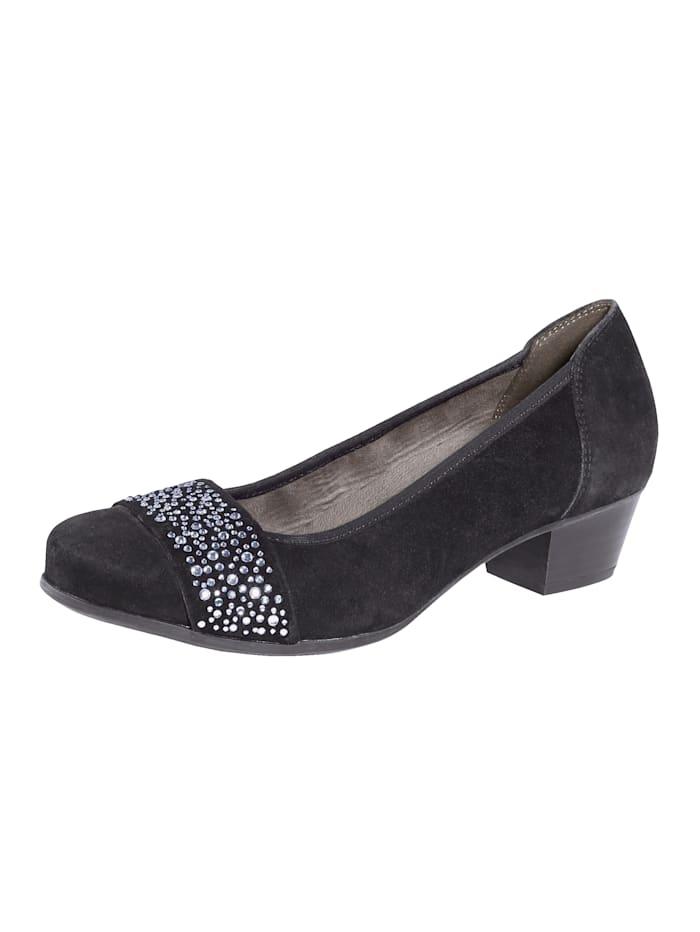 MONA Court shoes, Black