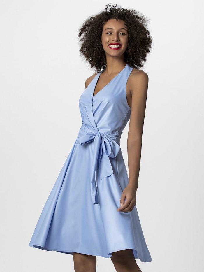 APART Neckholder-Kleid in Marilyn Monroe Stile, hellblau