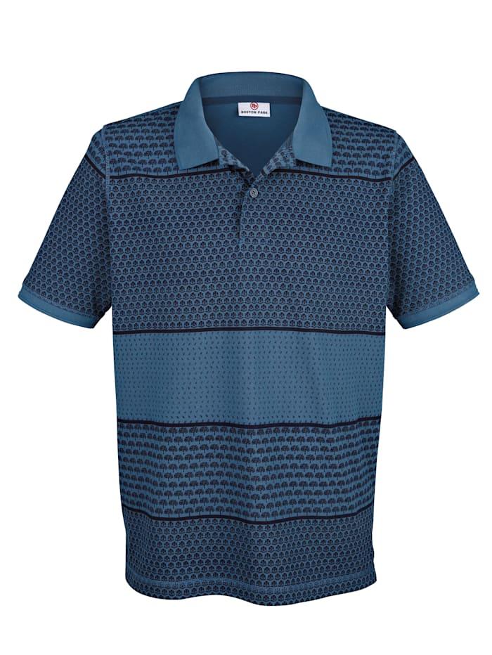 Poloshirt mit Druck rundum