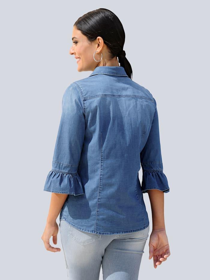 Bluse in schöner Jeans-Qualität