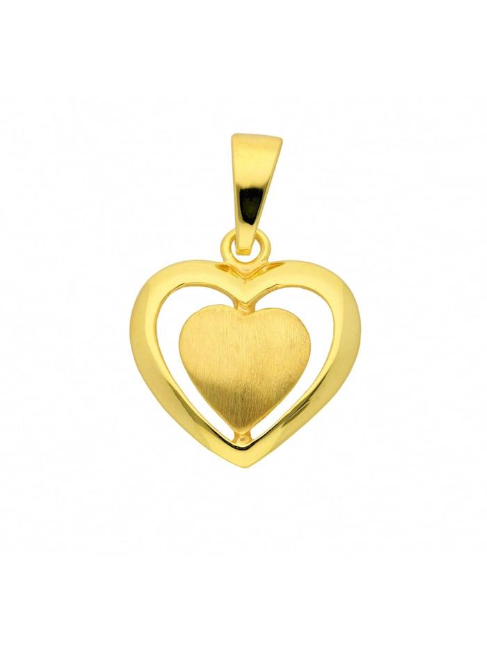1001 Diamonds Damen Goldschmuck 333 Gold Anhänger, gold