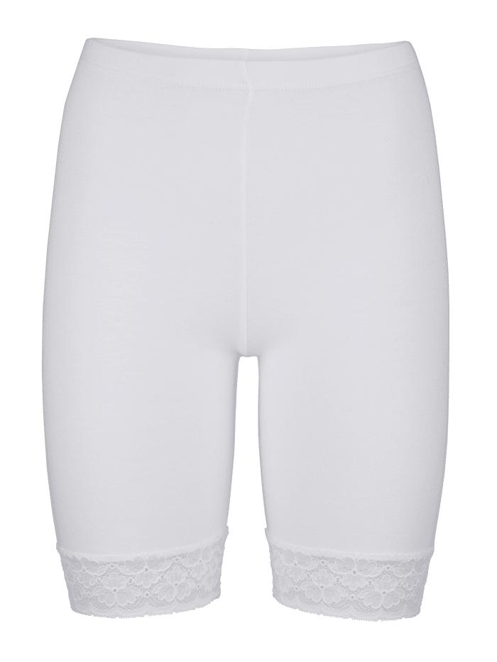 Lange boxershorts per 2 met hoogwaardig gecertificeerd katoen