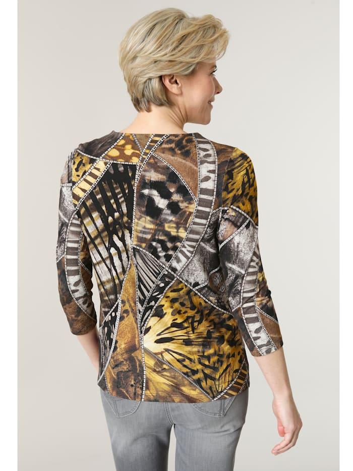 Shirt mit effektvollem Digitaldruck