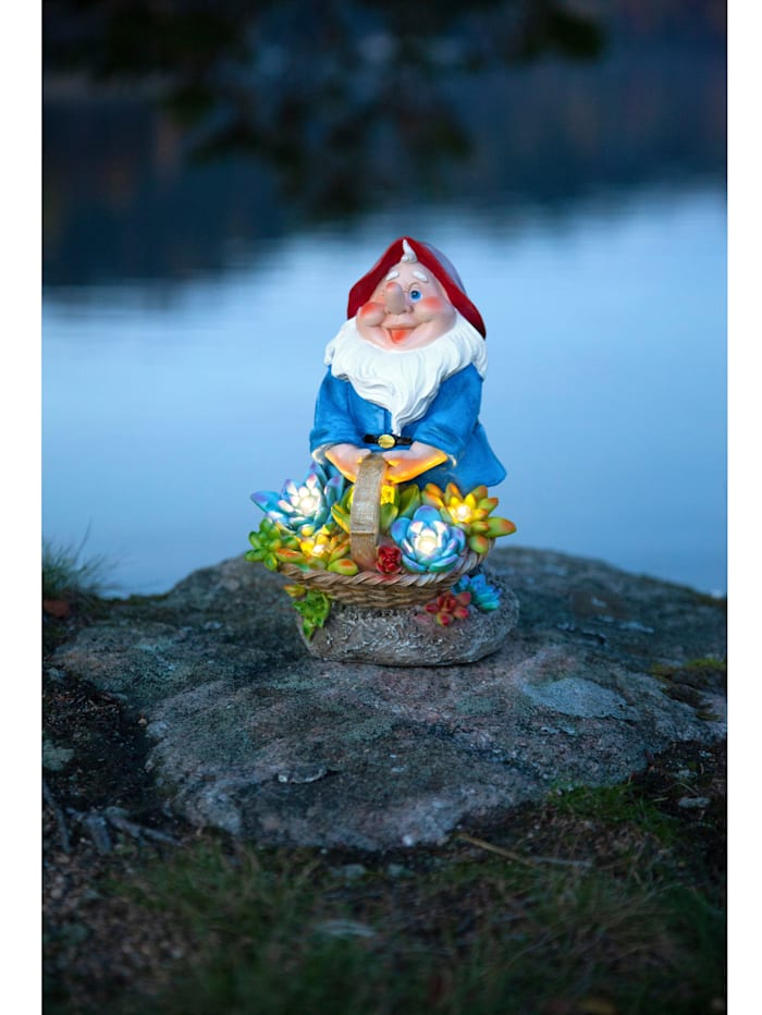 Figurine LED Nain de jardin
