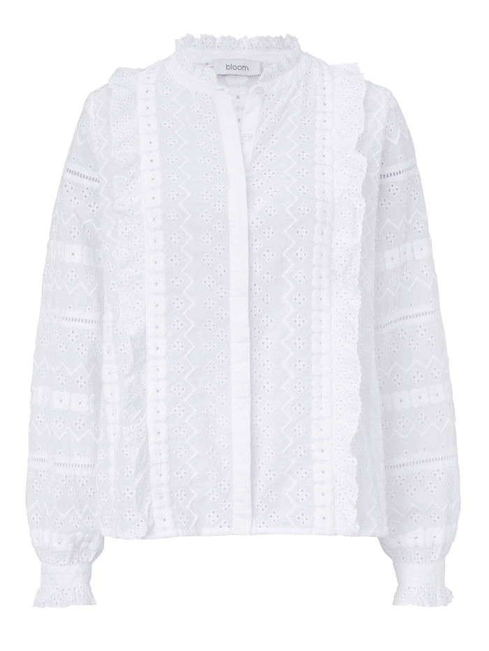 Bloom Bluse, Off-white