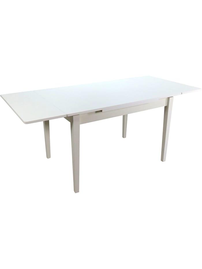 Möbel-Direkt-Online Esstisch mit Auszugsfunktion Royal, weiß