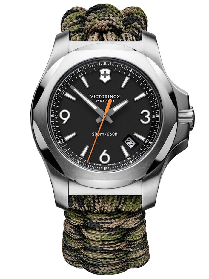Victorinox Herrenuhr I.N.O.X. Professional Diver mit 2 Armbändern, Schwarz