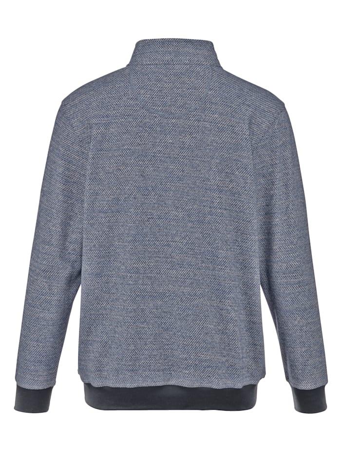 Sweat-shirt à traitement téflon anti-taches