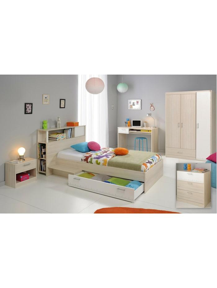 """Kinder- und Jugendzimmer 6-tlg. """"Charly 9"""" Akazie-Weiß"""