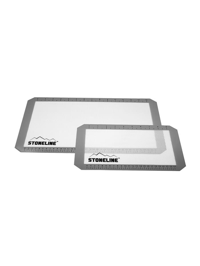 Stoneline STONELINE bakmattor, 2 st., Flerfärgad