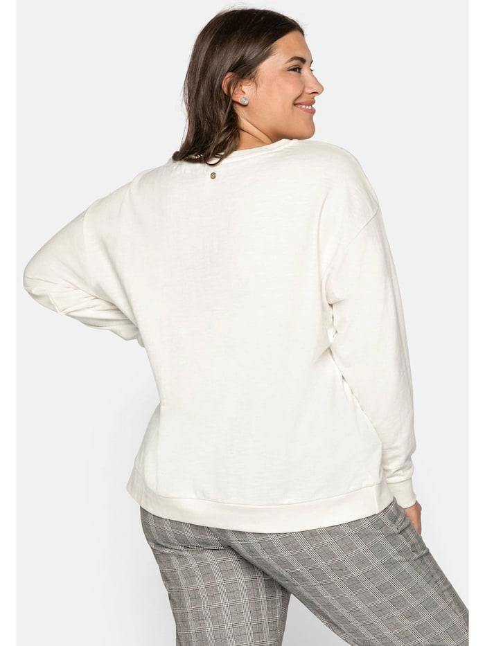 Sheego Sweatshirt aus leichter Baumwollqualität