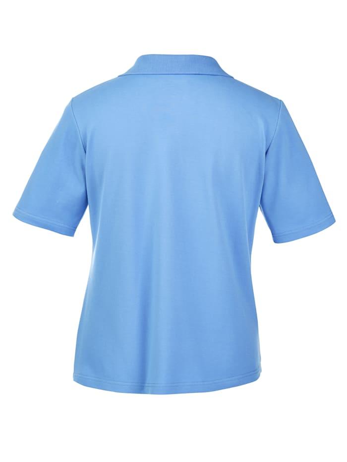 Shirt mit Strasszier